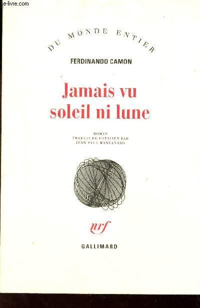 JAMAIS VU SOLEIL NI LUNE  / COLLECTION