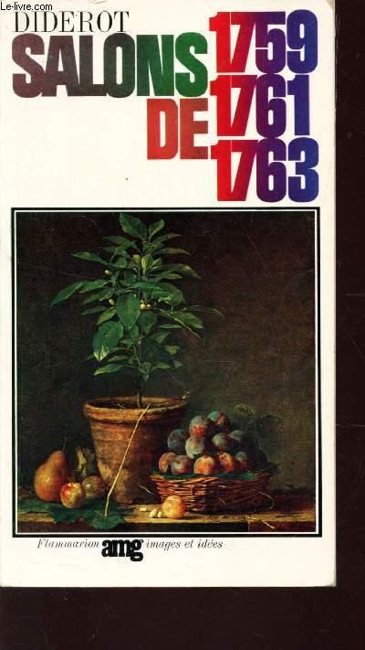 SALONS DE 1759-1761-1763 / TEXTE ETABLI PAR JEAN SEZNEC.