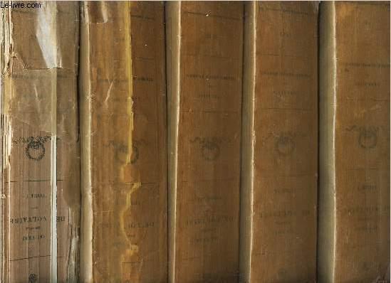 OEUVRES COMPLETES DE VOLTAIRE - en 13 volumes / DU TOME PREMIER AU TOME TREIZE / (voir Notice pour le sommaire)