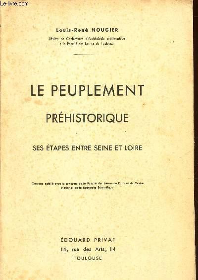 LE PEUPLEMENT PREHISTORIQUE - SES ETAPES ENTRE SEINE ET LOIRE