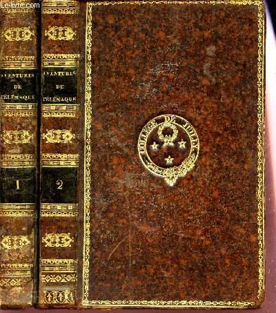 LES AVENTURES DE TELEMAQUE; FILS D'ULYSSE - EN 2 VOLUMES / TOME PREMIER + TOME DEUXIEME