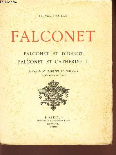 FALCONNET - FALCONET ET DIDEROT - FACONET ET CATHERINE II.