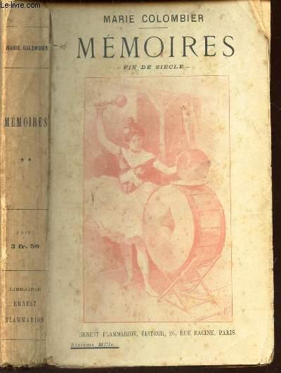 MEMOIRES - FIN DE SIECLE