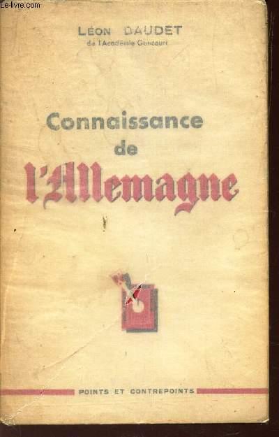 CONNAISSANCE DE L'ALLEMAGNE