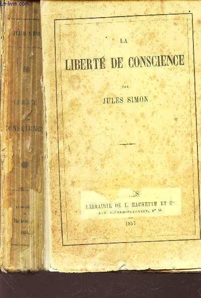 LA LIBERTE DE CONSCIENCE