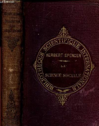 INTRODUCTION A LA SCIENCE SOCIALE / 3e EDITION