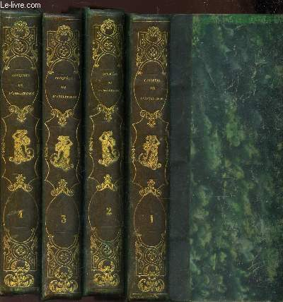 HISTOIRE DE LA CONQUETE DE L'ANGLETERRE PAR LES NORMANDS / EN 4 VOLUMES / DU TOME PREMIER A UTOME QUATRIEME / 5e EDITION