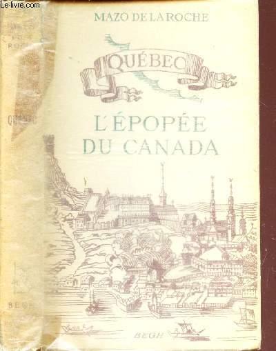 L'EPOPEE DU CANADA