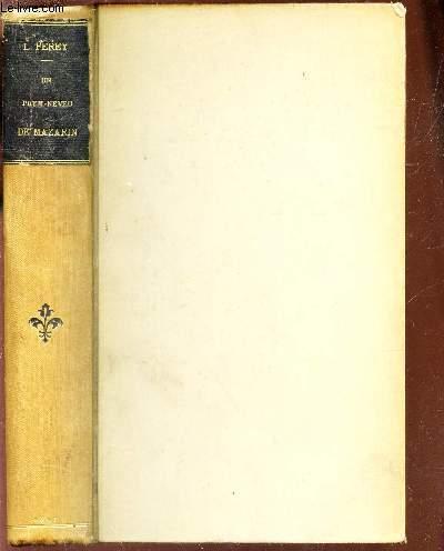 UN PETIT-NEVEU DE MAZARIN - LOUIS MANCINI-MAZARINI - DUC DE NIVERNAIS / 5e EDITION.