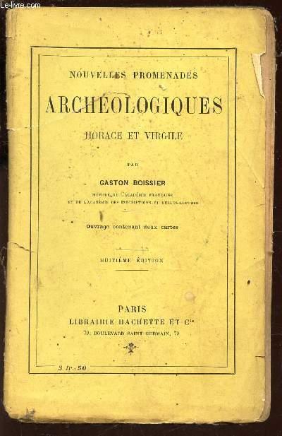 NOUVELLES PROMENADES ARCHEOLOGIQUES - HORACE ET VIRGILE / / 8e EDITION