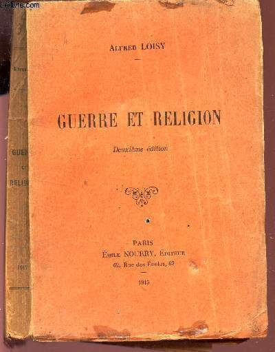 GUERRE ET RELIGION /