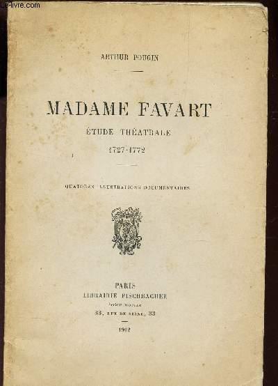 MADAME FAVART - ETUDE THEATRALE - 17
