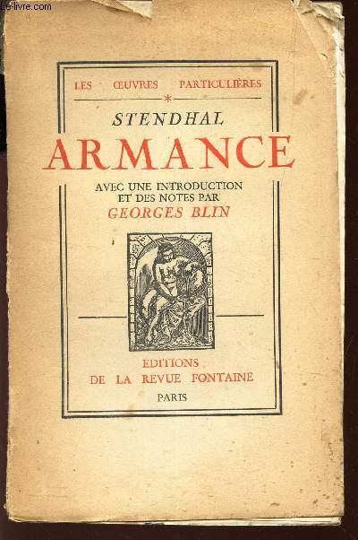 ARMANCE- QUELQUES SCEBES D'UN SALON A PARIS EN 1827  / COLLECTION