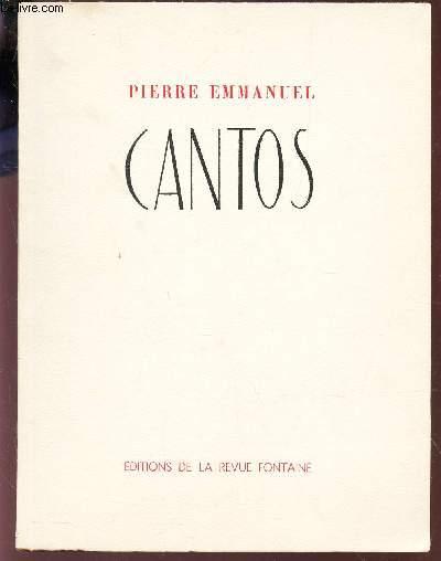 XX CANTOS