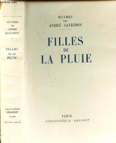 FILLES DE LA PLUIE . / EXMPLAIRE 876.