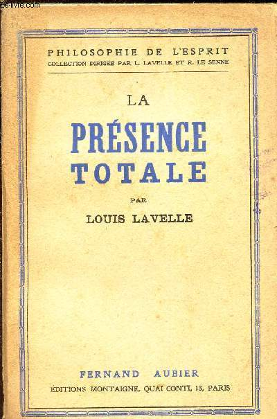 LA PRESENCE TOTALE / COLLECTION
