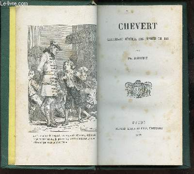 CHEVERT - LIEUTENANT GENERAL DES ARMEES DU ROI.