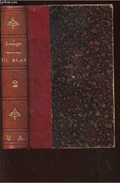 HISTOIRE DE GIL BLAS DE SANTILLANE  / TOME QUATRIEME / BIBLIOTHEQUE NATIONALE.