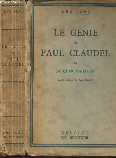 LE GENIE DE PAUL CLAUDEL - (LES ILES).