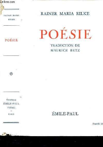 POESIE. / NOUVELLE EDITION
