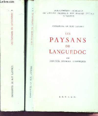 LES PAYSANS DE LANGUEDOC - EN 2 VOLUMES / TOMES 1 + 2.
