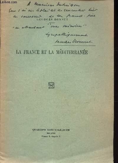 LA FRANCE ET LA MEDITERRANEE.