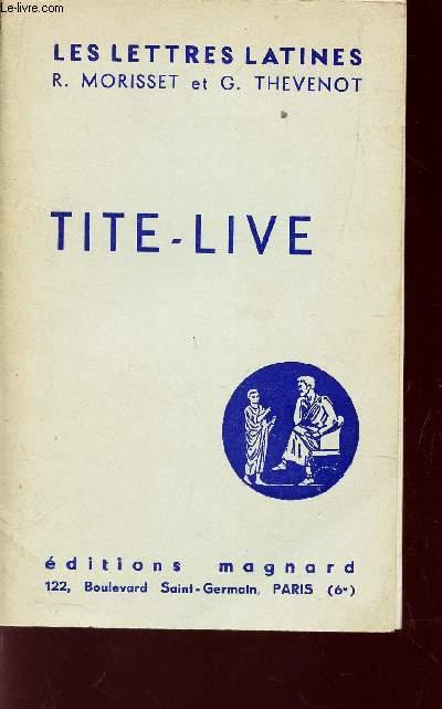 TITE-LIVE - (CHAPITRE XIX DES