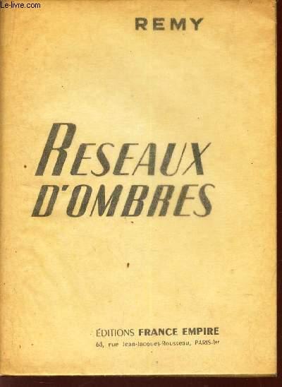 RESEAUX D'OMBRES