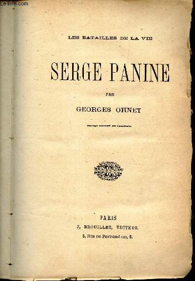 SERGE PANINE .