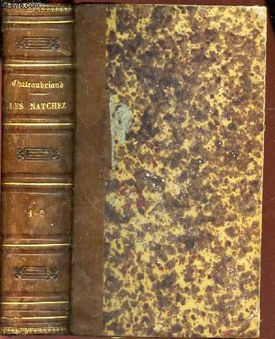 OEUVRES COMPLETES DE M. LE VICOMTE DE CHATEAUBRIAND  - EN 2 TOMES EN 1 SEUL VOLUME  - TOME XIX +  TOME XX.