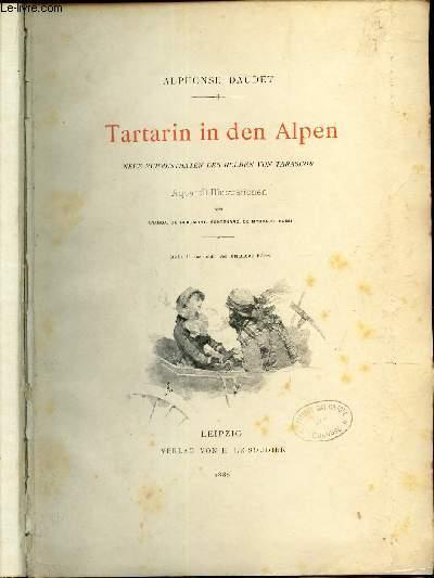 TARTARIN IN DEN ALPEN - Neue Ruhmesthaten des Helden von Tarascon.