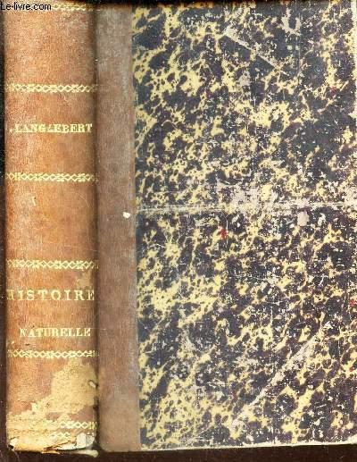 HISTOIRE NATURELLE  / COURS ELEMENTAIRE D'ETUDES SCIENTIFIQUES.
