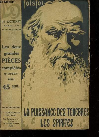LES DEUX GRANDES PIECES COMPLETES (9 ACTES)  / LA PUISSANCE DES TENEBRES LES SPIRITES / - N°13 DE LA COLLECTION