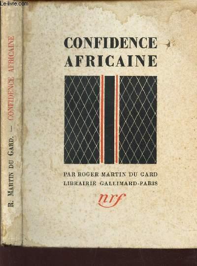 CONFIDENCE AFRICAINE.