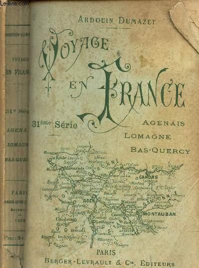 VOYAGE EN FRANCE - 31e SERIE / AGENAIS - LOMAGNE - BAS QUERCY.