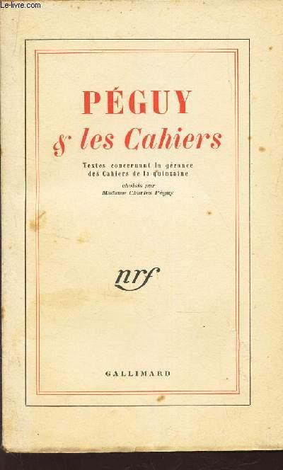 PEGUY & LES CAHIERS