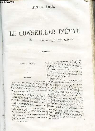 LE CONSEILLER D'ETAT. (1ere et deuxime parties).