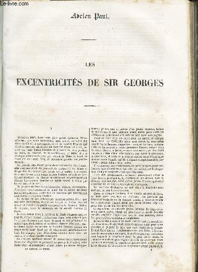 LES EXCENTRICITES DE SIR GEORGES.