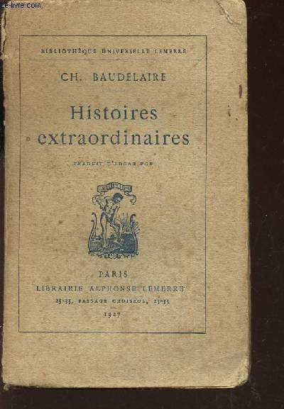 HISTOIRES EXTRAORDINAIRES  / COLLECTION