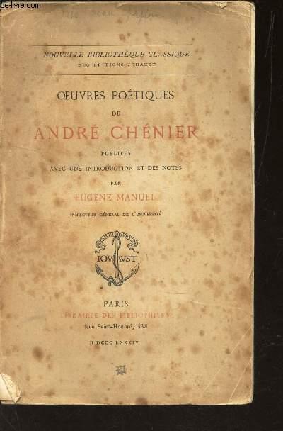 OEUVRES POETIQUES DE ANDRE CHENIER -