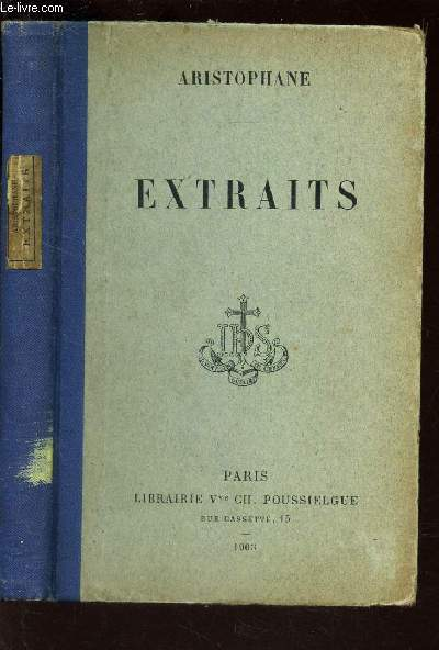 EXTRAITS - TEXTE GREC / ALLIANCE DES MAISONS D'EDUCATION CHRETIENNE.