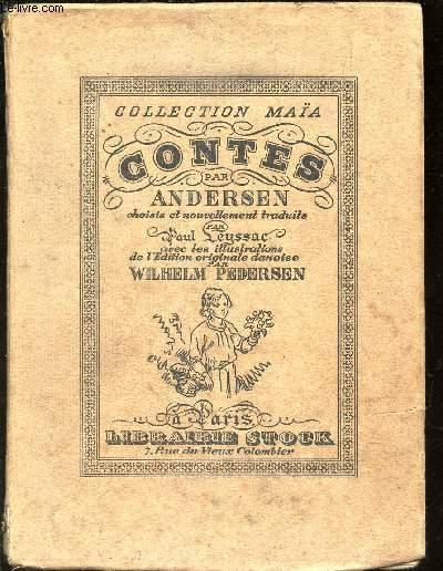 CONTES D'ANDERSEN / SERIE A - COLLECTION MAÏA - N°XII. / 4e EDITION.