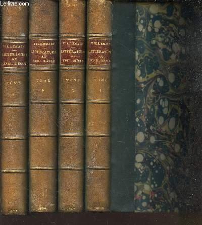 COURS DE LITTERATURE FRANCAISE - EN 4 VOLUMES : TOMES I A IV.