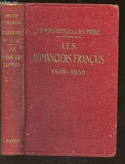 LESROMANCIERS FRANCAIS 1800-1930 / COLLECTION D'AUTEURS FRANCAIS / 2e EDITION