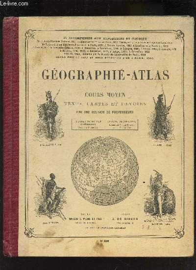 GEOGRAPHIE-ATLAS DU COURS MOYEN - LA FRANCE - LA TERRE.