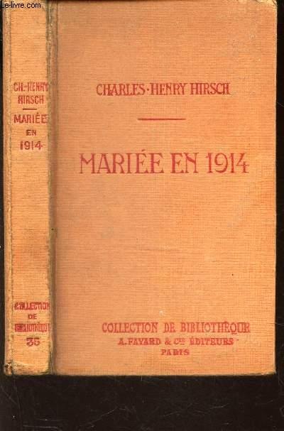 MARIEE EN 1914