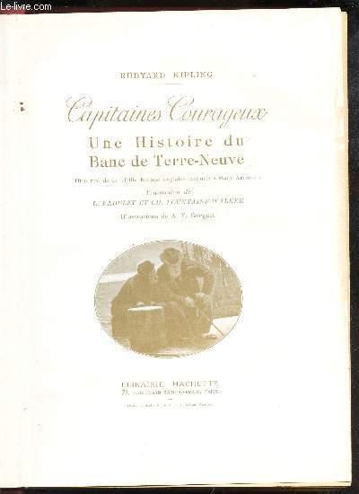 CAPITAINES COURAGEUX - UNE HISTOIRE DU BAND DE TERRE-NEUVE - titre tiré de la vieille ballade anglaise intitulée