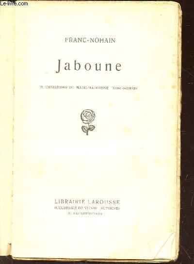 JABOUNE / a vente d e ce volume est interdite en France, dans les colonies francaises et en Belgique.