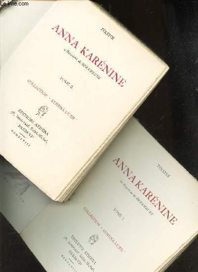 ANNA KARENINE - en 2 volumes : TOMES 1 +2