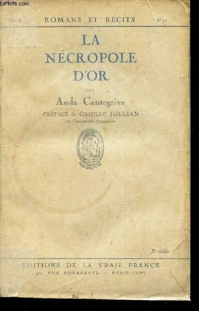 LA NECROPOLE D'OR